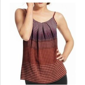 CAbi Tops - Cute CAbi Houndstooth Pleated Top